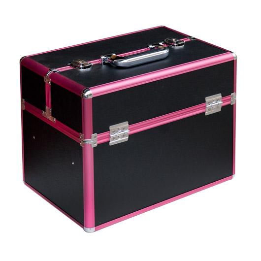 Nagy fém bőrönd