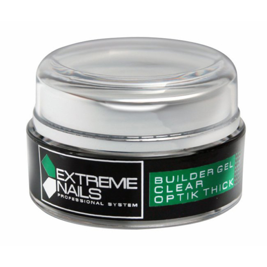 CLEAR OPTIC THICK Builder Gel 5g