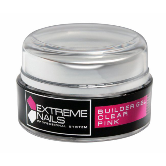 CLEAR PINK Builder Gel 5g