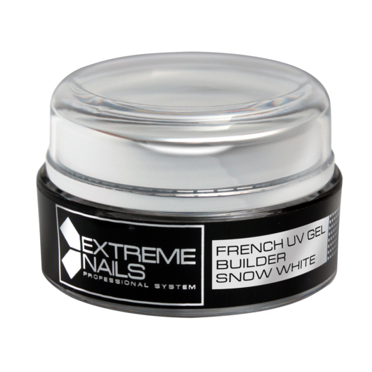 FRENCH GEL BUILDER SNOW WHITE 15g